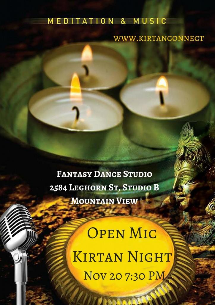 Open Mic Kirtan Night Nov 2015
